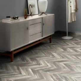Premier Floor Chevron Parquet 8mm Boho Oak Laminate Flooring