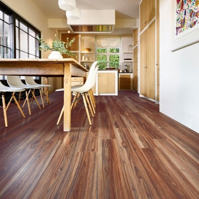 GW Leader Premier Floor Easy Click 4.2mm Norfolk Walnut Embossed Waterproof Luxury Vinyl Flooring