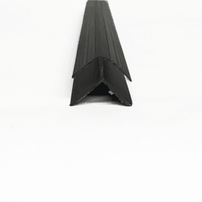 PVC Black Plastic Cladding External Corner 2700mm