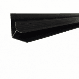 PVC Black Plastic Cladding Internal Corner 2700mm