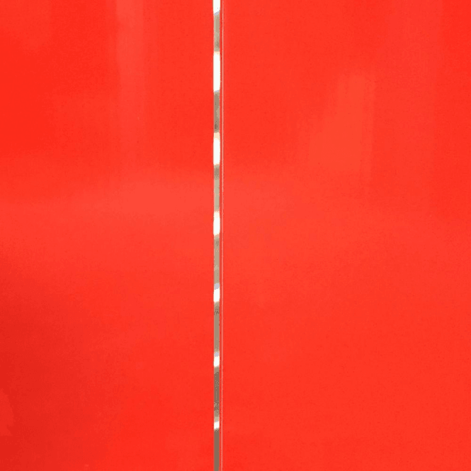 GW Leader PVC Plastic Cladding 200mm x 2700mm Red with Silver Strip