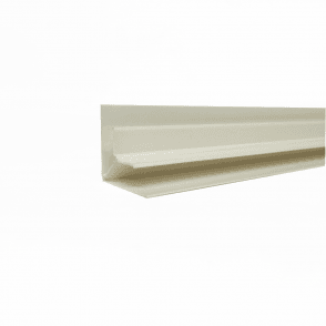 PVC White Plastic Cladding Internal Corner 2700mm