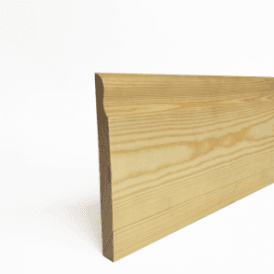Redwood 18mm x 75mm Lambs Tongue Skirting Board