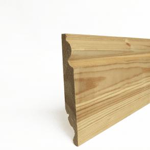 Redwood 25mm x 175mm Dual Purpose Torus/Ogee Skirting Board