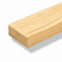 GW Leader Redwood 25mm x 25mm Planed Square Edge Timber (PSE)