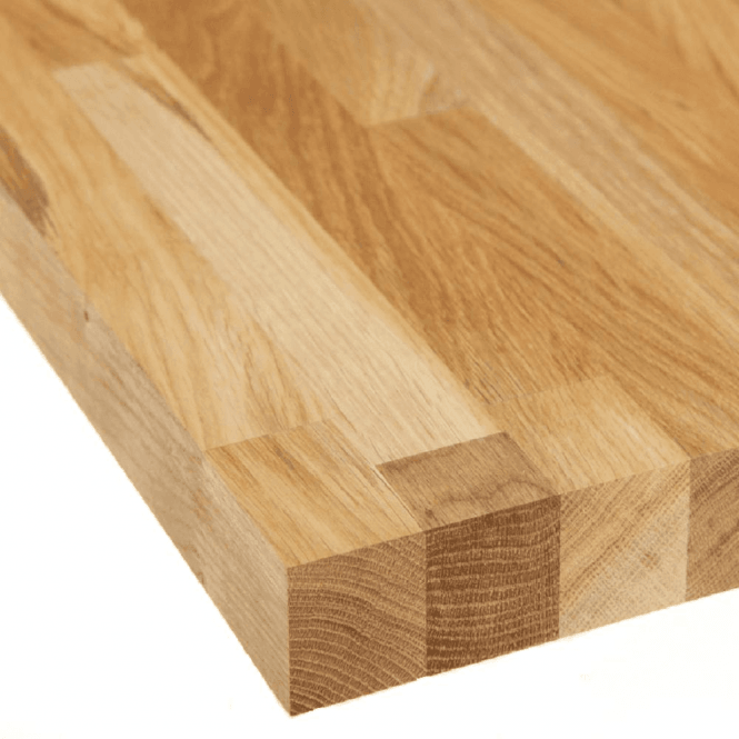 GW Leader Solid Oak Worktop 3000 x 650 x 28mm