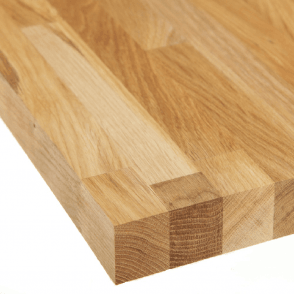 Solid Oak Worktop 3000 x 650 x 38mm