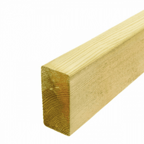 Treated Green Decking Joists 150mm x 47mm