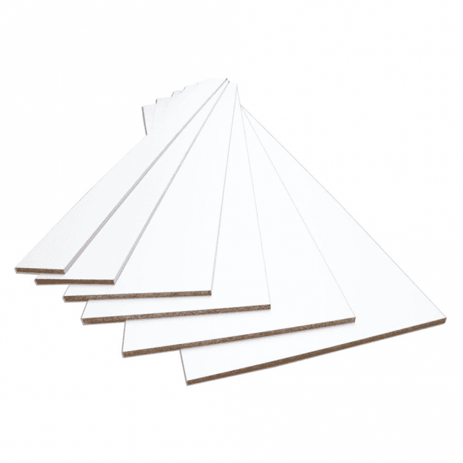 GW Leader White 15mm Contiplas Furniture Board