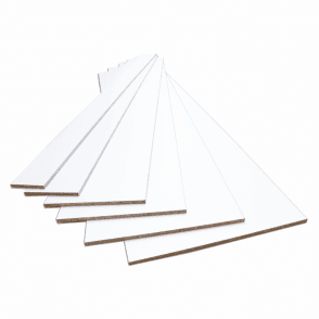 White 15mm Contiplas Furniture Board
