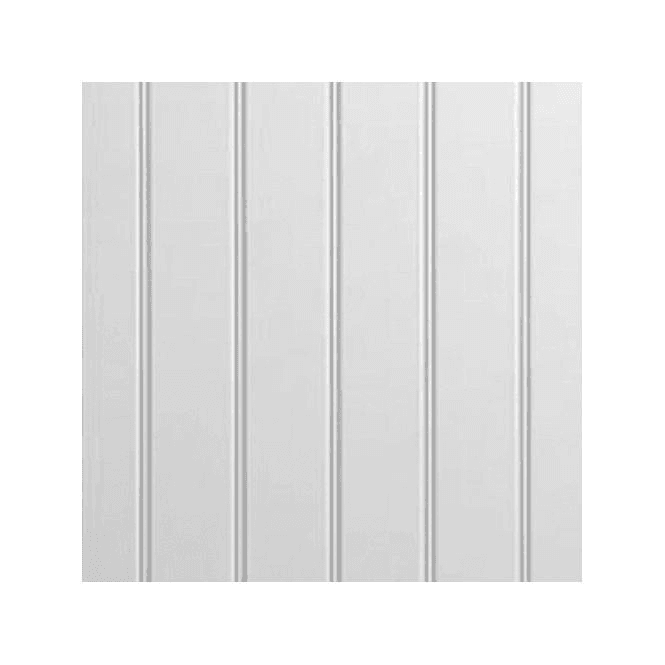 GW Leader White Primed MDF Matchboard Panelling 2440 x 1219 x 9mm