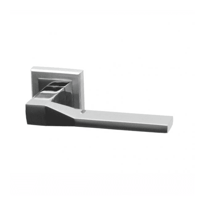 Intelligent Hardware Canterbury Square Rose Dual Finish Lever Door Handle