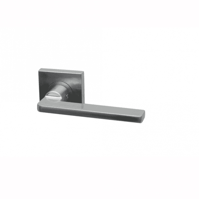 Intelligent Hardware Gemini Square Rose Lever Door Handle