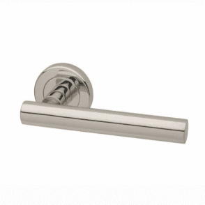 Lynx Round Rose Lever Door Handle