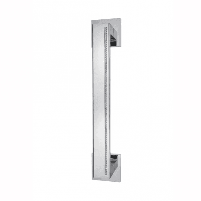 Intelligent Hardware Zircon Polished Chrome Finish Pull Door Handle