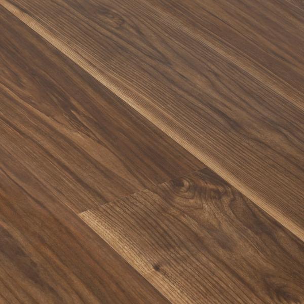 Krono Vario 12mm Virginia Walnut 4v Groove Laminate Flooring Gw