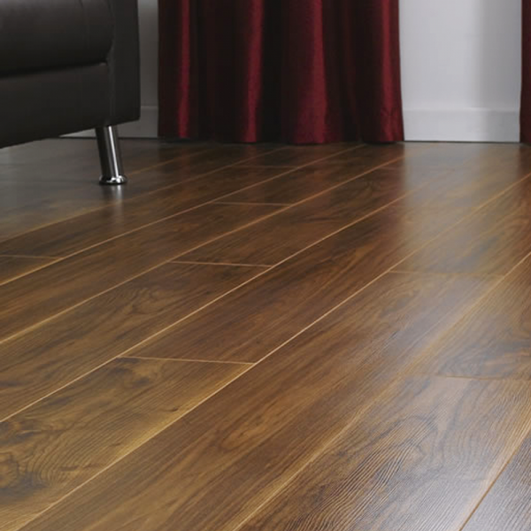 Krono Original Vario 8mm Virginia Walnut 4v Groove Laminate Flooring 8748