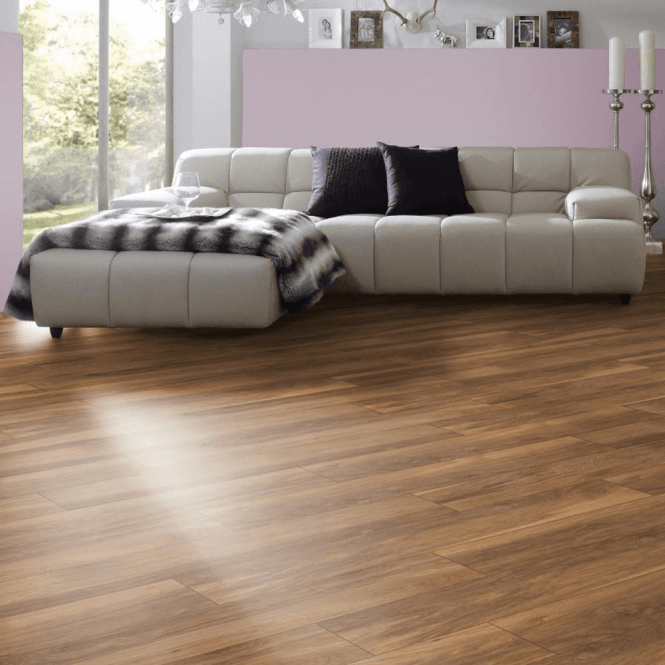 Krono Original Vintage Classic 10mm Appalachian Hickory 4v Groove Handscraped Laminate Flooring (8155)