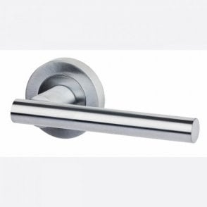 LPD Doors Hyperion Satin Chrome Lever Door Handle Hardware Pack
