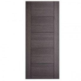 Internal Ash Grey Pre-Finished Vancouver 5P Door