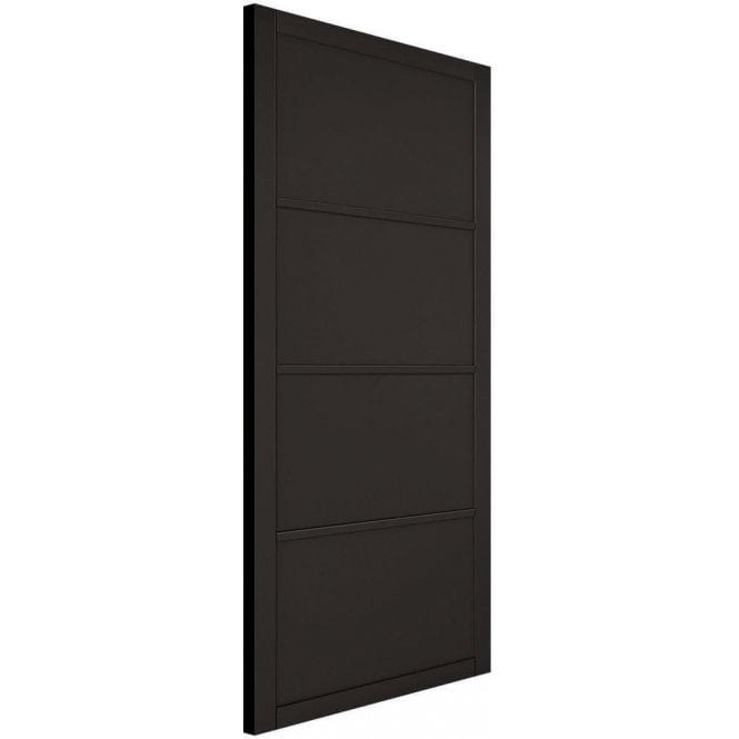 LPD Doors Internal Black Primed Industrial Style Soho Door
