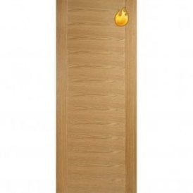 Internal Oak Pre-Finished Aragon Fire Door