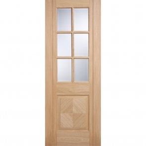 Internal Oak Pre-Finished Barcelona Glazed Door