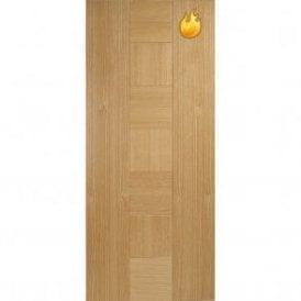 Internal Oak Pre-Finished Catalonia Fire Door