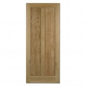 Internal Oak Pre-Finished Maine Contemporary Fire Door