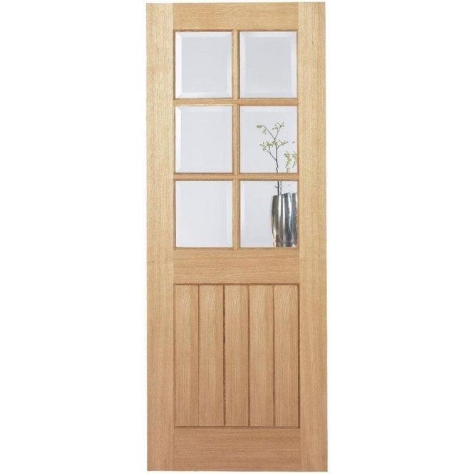 LPD Doors Internal Oak Pre-Finished Mexicano 6 Light Door