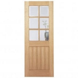 Internal Oak Pre-Finished Mexicano 6 Light Door