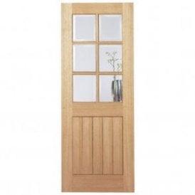 Internal Oak Pre-Finished Mexicano 6 Light Door