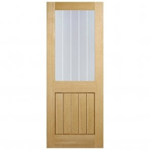 Internal Oak Pre-Finished Mexicano Half Light Glazed Door