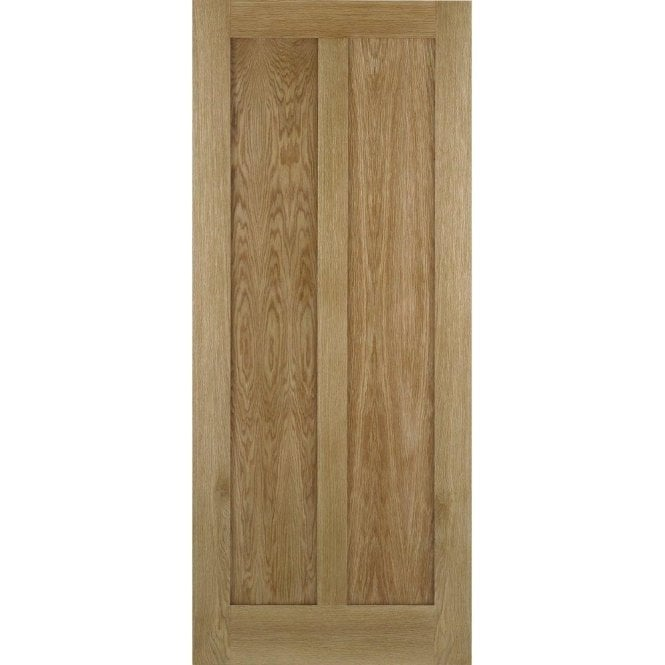 LPD Doors Internal Oak Unfinished Maine Contemporary Door