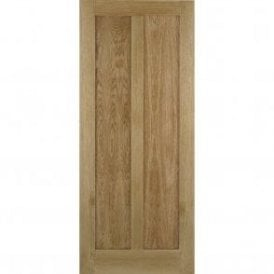 Internal Oak Unfinished Maine Contemporary Door