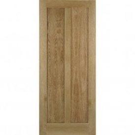 Internal Oak Unfinished Maine Contemporary Door
