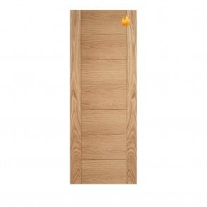 Internal Pre-Finished Oak Carini Fire Door
