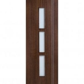 Internal Pre-Finished Walnut Glazed Sierra Door
