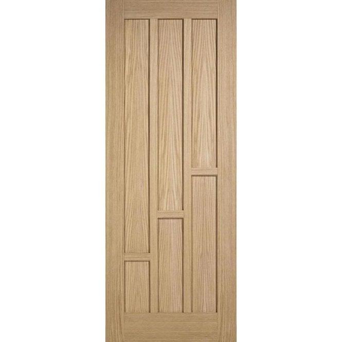 LPD Doors Internal Unfinished Oak Coventry Door
