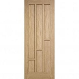 Internal Unfinished Oak Coventry Fire Door