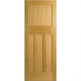 Internal Unfinished Oak DX 30s Style Door