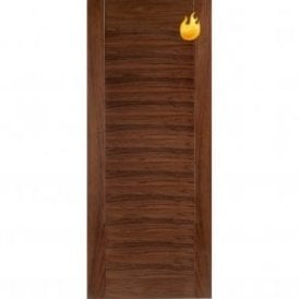 Internal Walnut Pre-Finished Aragon Fire Door