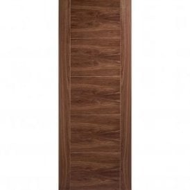 Internal Walnut Pre-Finished Vancouver 5 Panel Door