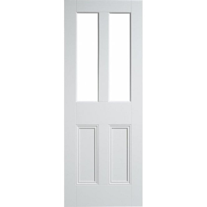 LPD Doors Internal White Primed Malton 2L Unglazed Door