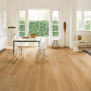 Quickstep Impressive 8mm Natural Varnished Oak IM3106 Laminate Flooring