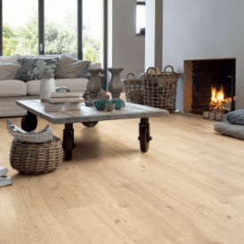 Impressive 8mm Sandblasted Natural Oak IM1853 Laminate Flooring