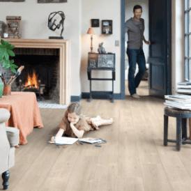 Impressive 8mm Saw Cut Oak Beige IM1857 Laminate Flooring