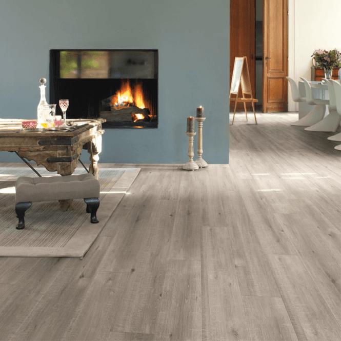 Quickstep Impressive 8mm Saw Cut Oak Grey IM1858 Laminate Flooring