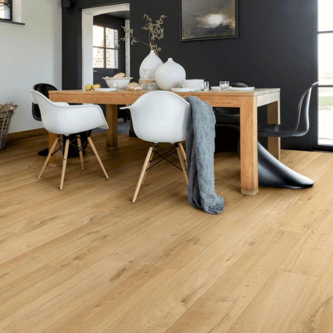 Quickstep Impressive 8mm Soft Natural Oak Laminate Flooring Gw Leaders