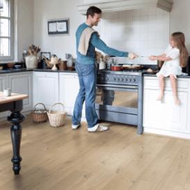 Impressive 8mm Soft Warm Grey Oak IM1856 Laminate Flooring
